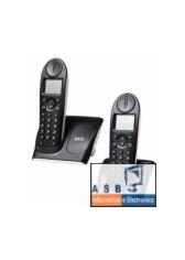 TELEFONE S/FIOS AEG B10 TWIN ( 2 TERMINAIS)